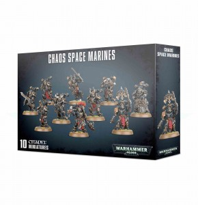 Chaos Space Marines - WH 40K