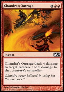 Chandra's Outrage (M14)