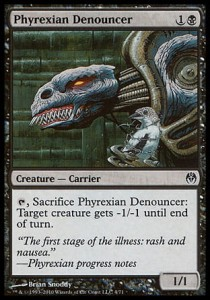 Phyrexian Denouncer (DD: Phyrexia vs. The Coalition )