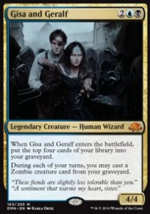 Gisa and Geralf (Eldritch Moon)
