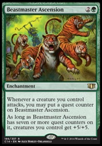Beastmaster Ascension (Commander 2014)