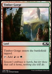 Timber Gorge (M19 Core Set)