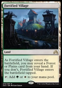 Fortified Village (Shadows over Innistrad)