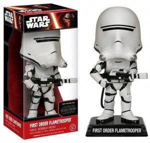Wacky Wobblers - Star Wars Episode VII  First Order Flametrooper