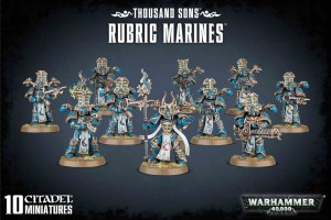 Thousand Sons - Rubric Marines - WH 40K
