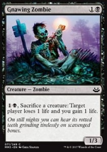 Gnawing Zombie (Modern Masters 2017)