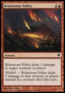 Brimstone Volley (Innistrad)