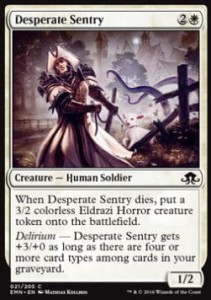 Desperate Sentry (Eldritch Moon)