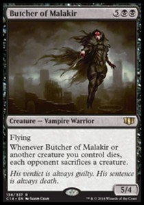 Butcher of Malakir (Commander 2014)