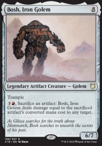 Bosh, Iron Golem (Commander 2018)