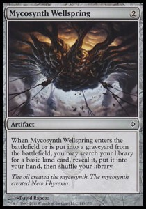 Mycosynth Wellspring (New Phyrexia)
