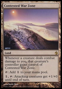 Contested War Zone (Mirrodin Besieged)