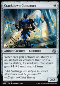 Crackdown Construct (Aether Revolt)