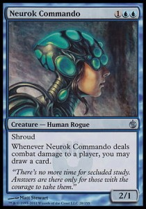 Neurok Commando (Mirrodin Besieged)