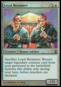 Loyal Retainers (Commander\'s Arsenal)