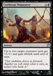 Cutthroat Maneuver (Theros)