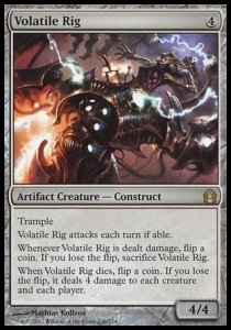 Volatile Rig (Return to Ravnica)