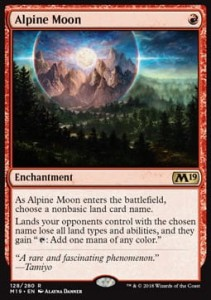Alpine Moon (M19 Core Set)