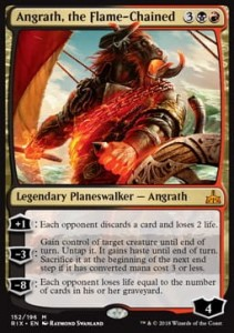 Angrath, the Flame-Chained (Rivals of Ixalan)