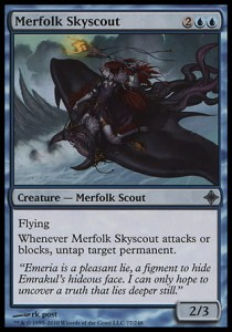 Merfolk Skyscout (Rise of the Eldrazi)