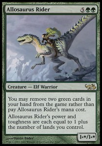 Allosaurus Rider (DD: Elves vs Goblins)
