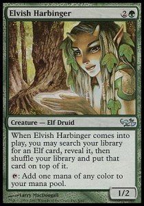Elvish Harbinger (DD: Elves vs Goblins)