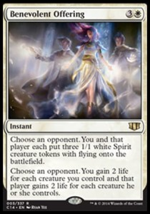 Benevolent Offering (Commander 2014)
