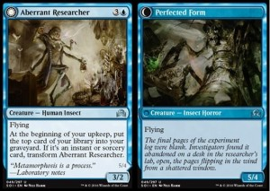 Aberrant Researcher / Perfected Form (Shadows over Innistrad)