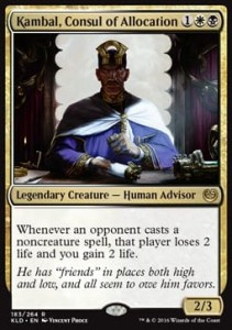 Kambal, Consul of Allocation (Kaladesh)