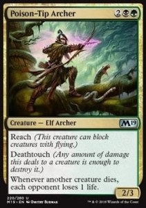 Poison-Tip Archer (M19 Core Set)
