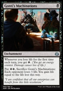 Gonti\'s Machinations (Aether Revolt)