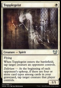 Topplegeist (DD: Blessed vs Cursed)