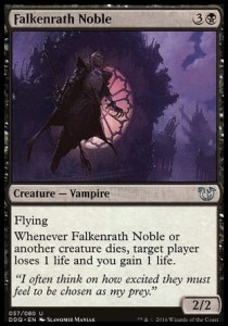Falkenrath Noble (DD: Blessed vs Cursed)