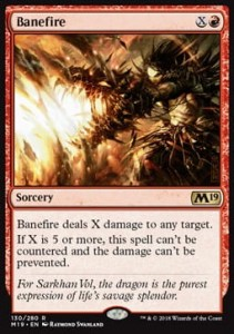 Banefire (M19 Core Set)