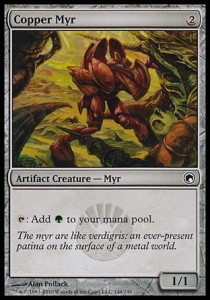 Copper Myr (Scars of Mirrodin)