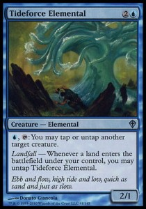 Tideforce Elemental (Worldwake)