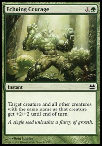 Echoing Courage (Modern Masters)
