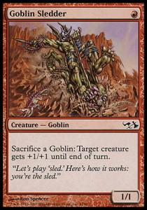 Goblin Sledder (DD: Elves vs Goblins)