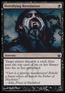 Horrifying Revelation (Mirrodin Besieged)