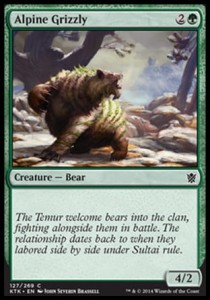 Alpine Grizzly (Khans of Tarkir)