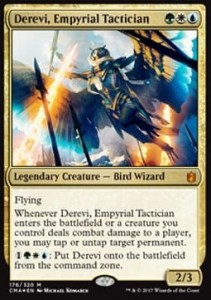 Derevi, Empyrial Tactician - FOIL (Commander Anthology 2017)