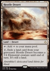 Hostile Desert (Hour of Devastation)