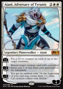 Ajani, Adversary of Tyrants (M19 Core Set)