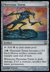Phyrexian Totem (DD: Phyrexia vs. The Coalition )