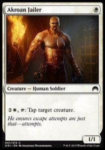 Akroan Jailer (Magic Origins)