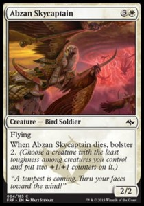 Abzan Skycaptain (Fate Reforged)