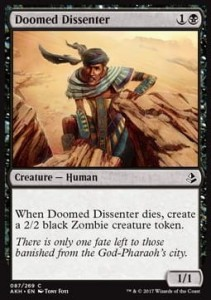 Doomed Dissenter (Amonkhet)