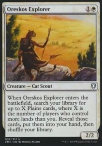 Oreskos Explorer (Commander Anthology II)