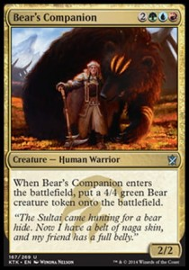 Bear's Companion (Khans of Tarkir)