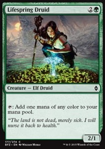 Lifespring Druid (Battle for Zendikar)